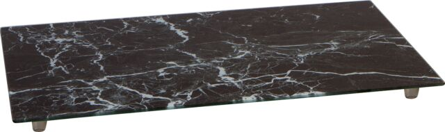 """20 3/8"""" Tempered Glass Stove Burner Cover  Cutting Board by Trademark"""