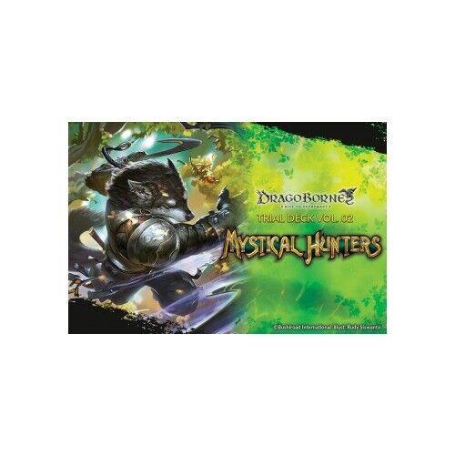 Bushiroad DB-TD02-EN Dragoborne Mystical Hunters Rise to Supremacy Trial Deck