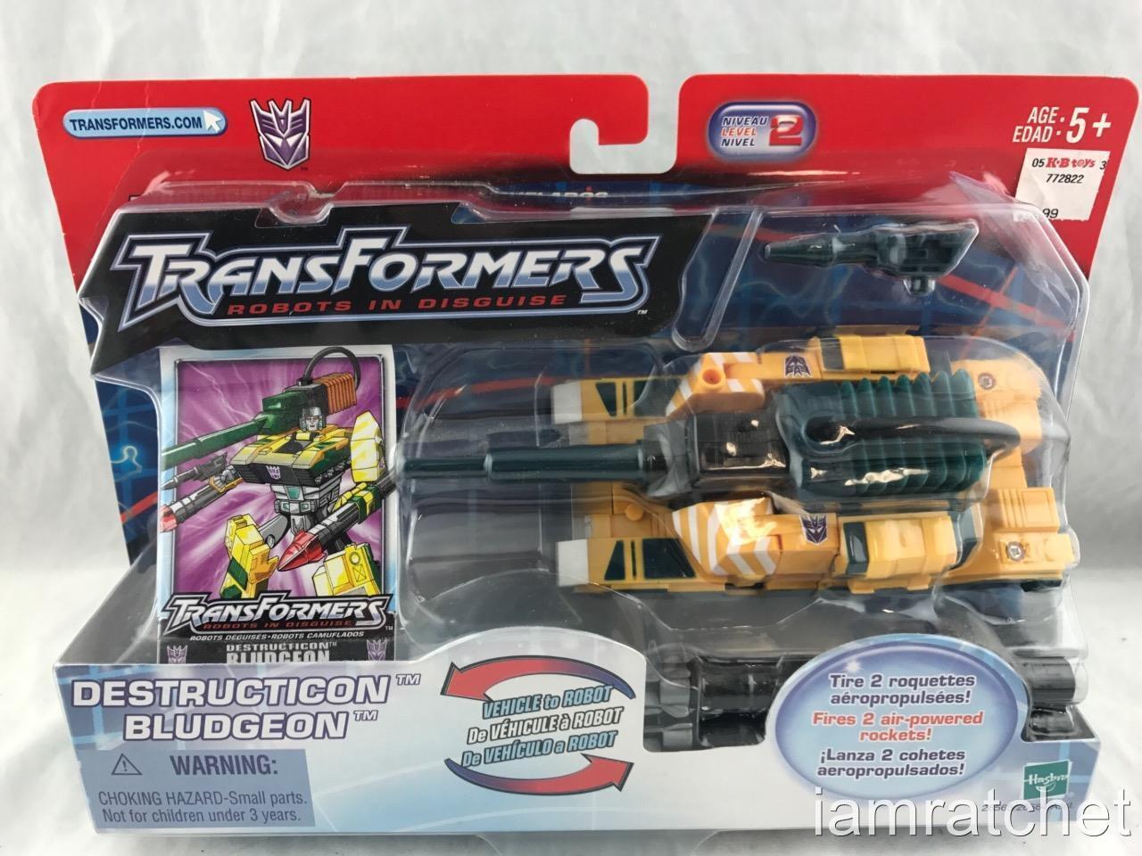 Transformers Original RID Robots in Disguise Destruction bluedgeon MOSC