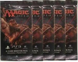 Magic-The-Gathering-MTG-2014-5-x-6-Card-Booster-Packs-Free-Ship