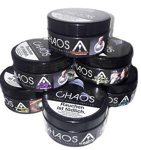 chaos tobacco shisha tabak hookah tobacco 200g dose chaos. Black Bedroom Furniture Sets. Home Design Ideas