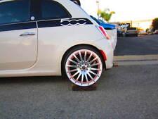 ENZO WHEELS, FIAT 500, POP, SPORT, LOUNGE, ABARTH, TURBO17X7.5, WHITE 4X98
