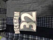 David Beckham name and number for jersey