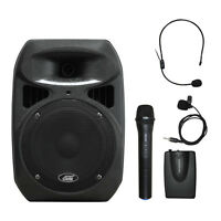 6406bhl 8 Spraker Dual Channel Battery Powered Wireless Portable Pa System