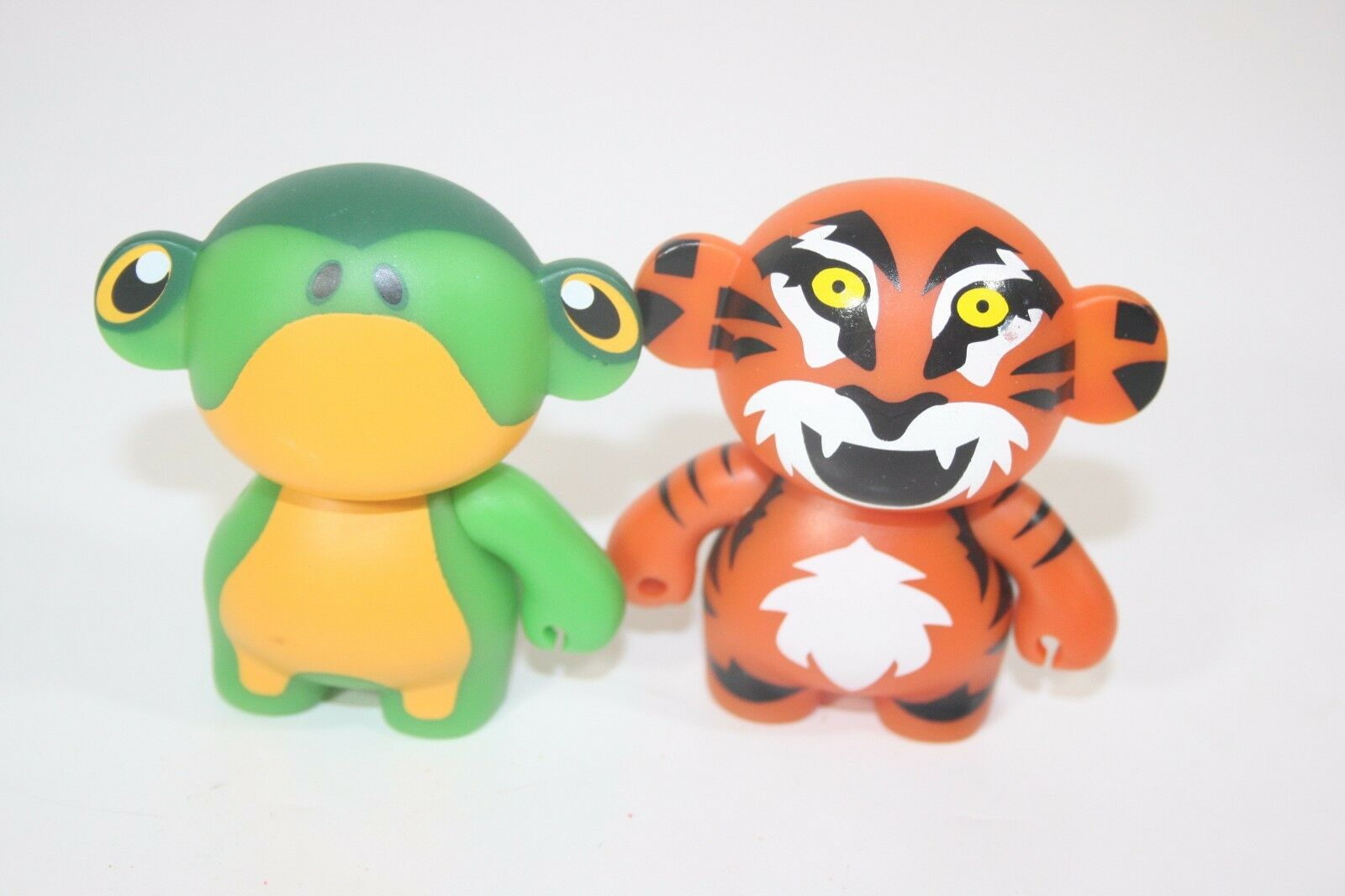 Monskey collectible Tiggz The Tiger and Brubs the Frog Figures Figurine