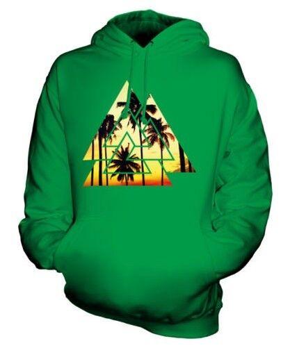 Valknut Sommer Palmbäume Unisex Kapuzenpulli Top Geschenk Strand Mode