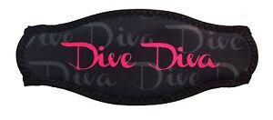Dive Diva Comfort Padded Wrapper Mask Strap Cover Diving Freediving SWDIVA