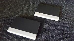 Details Zu 2x Visitenkarten Etui Business Card Box Visitenkartenhalter Metall Alu Silber