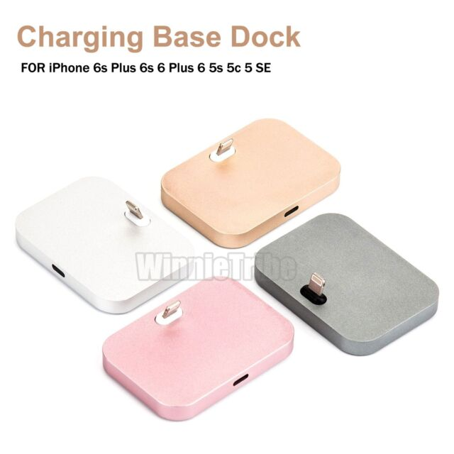 Aluminum Alloy Lightning Dock Charging Sync Station For iPhone 6S Plus 6S 6 5S 5