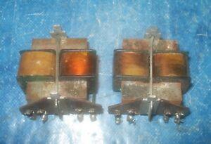 Paar-original-SABA-Input-Transformer-900-Ohm-6-Ohm-Roehren-Roehrenradio