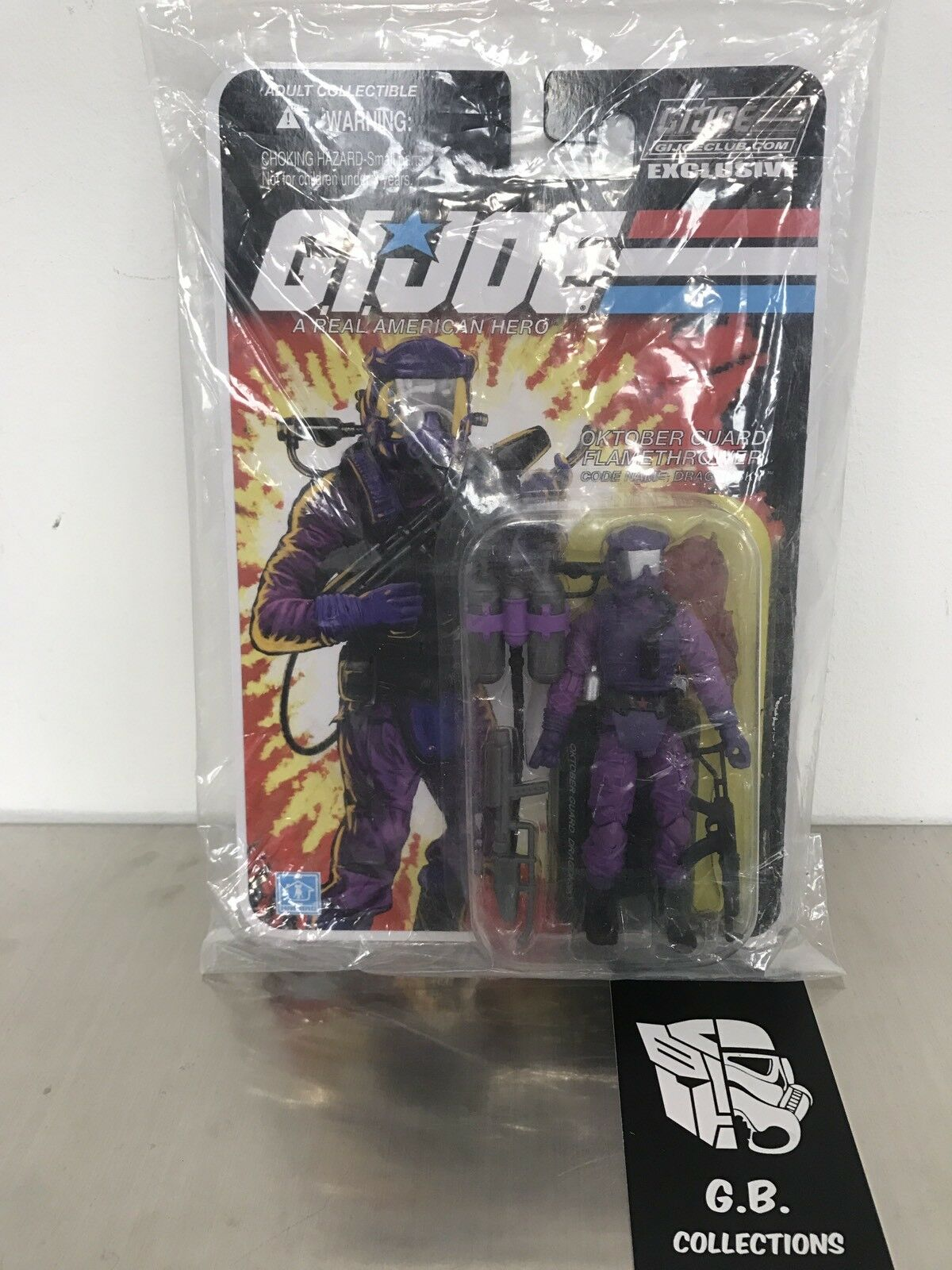 GI Joe Exclusive Club Dragonsky Action Figure New Not Sealed