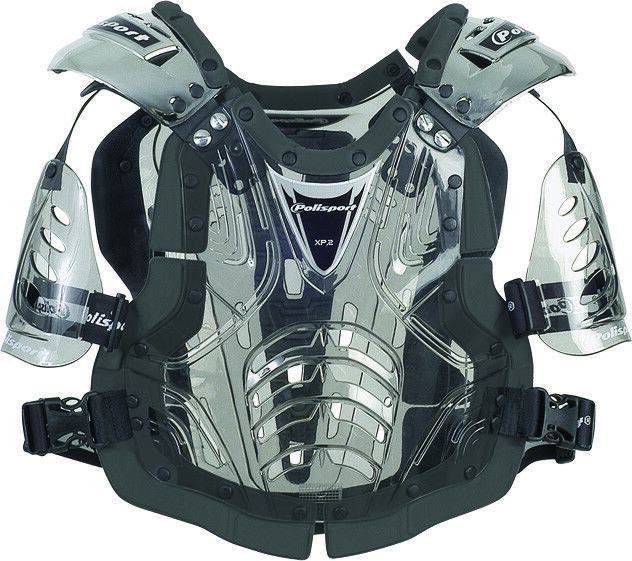 PHANTOM Mini STONE SHIELD MOTOCROSS Kids BODY ARMOUR Armor Roost deflector Black
