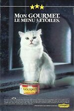 ▬► PUBLICITE ADVERTISING AD PATEE GOURMET CHATS