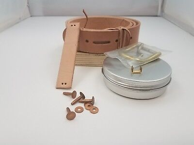 1.25 inch leather belt kit