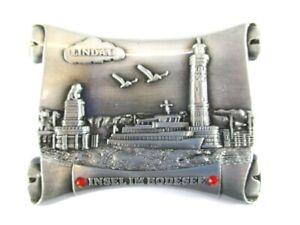 Lindau-Bodensee-Metall-Magnet-Souvenir-Deutschland-Germany-23