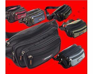Fanny Pack Mens Womens Waist Hip Belt Bag Purse Pouch Pocket Travel Sport Bum