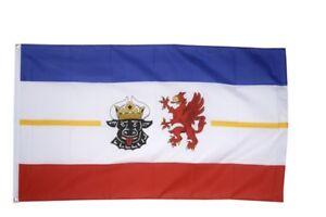 Allemagne Mecklembourg Poméranie Occidentale Hissflagge Seenplatte drapeaux drapeaux 15-he Fahnen Flaggen 15afficher le titre d`origine 6HA9OreK-07190807-808747522