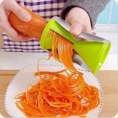 6 Colors Kitchen Veggie Spiral Noodle Vegetable Cutter Vegetti Julienne Slicer