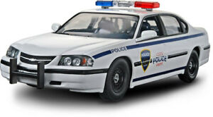 Revell-05-Chevy-Impala-Police-Car-SnapTite-1-25-scale-model-car-kit-new-1928