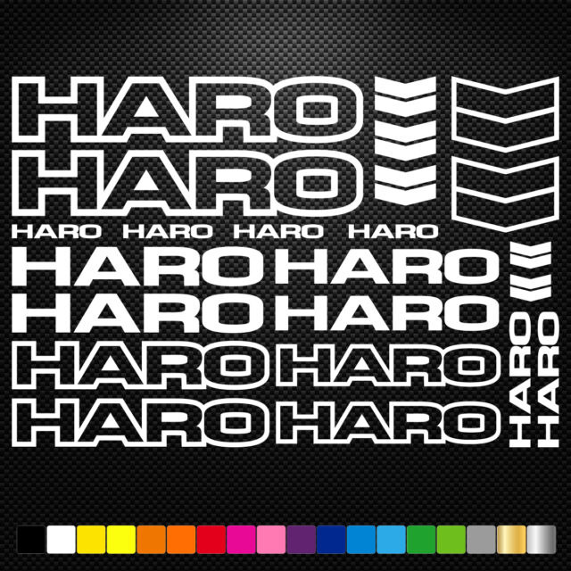 Road Bike Mountain Bike Bicycle Frame Stickers Reflective Decal for HARO-sticker