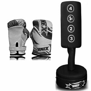 Free-Standing-Boxing-Punch-bag-Heavy-Duty-Bag-MMA-Pro-Martial-Arts-Training-Set