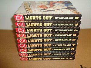 Lights-Out-Volume-1-9-Manhwa-Manga-Graphic-Novel-Comic-Book-Complete-Lot-English