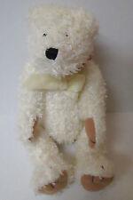 """Bath & Body Works """"Snow"""" Plush 10""""  Jointed White Teddy Bear Teddybear Christmas"""