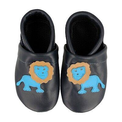 Collezione Qui Pantau Liya Krabbelschuhe Lauflernschuhe Baby Scarpe Con Leone- Materiali Di Alta Qualità Al 100%