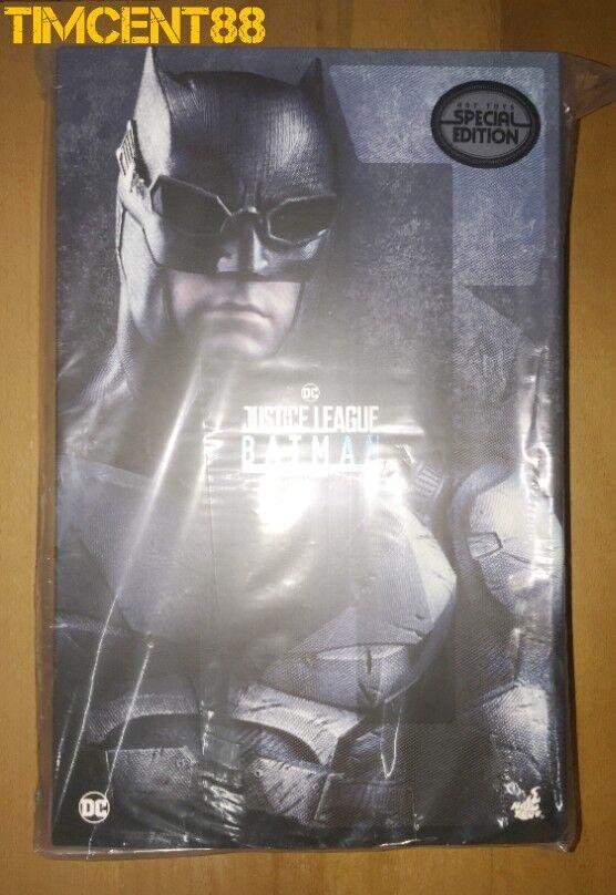 Ready Hot Toys MMS432 Justice League Batman Tactical Batsuit Version 1 6 Special