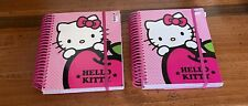 Sanrio Hello Kitty Agenda Scheduler Planner With Sticky Notes About 120 Sheets