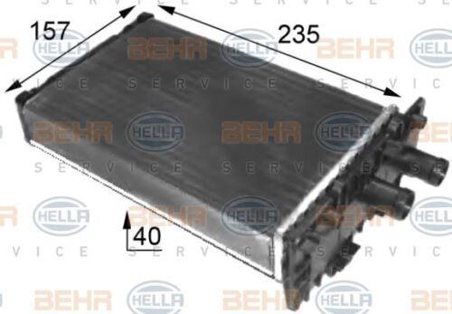 8FH 351 024-431 HELLA Heat Exchanger  interior heating  Centre