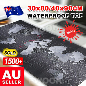 30x80-40x90cm-World-Map-Pattern-Wide-Large-Big-Size-Computer-Mouse-Pad-Desk-Mat