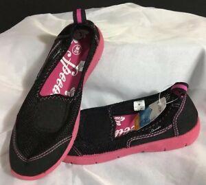 21a08c2820ba Speedo Girls Juniors Mary Jane Sport Water Shoes Black Pink Medium 2 ...