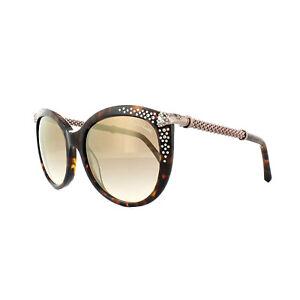 ROBERTO-CAVALLI-occhiali-da-sole-TANIA-rc979s-52G-AVANA-SCURO-MARRONE-specchio