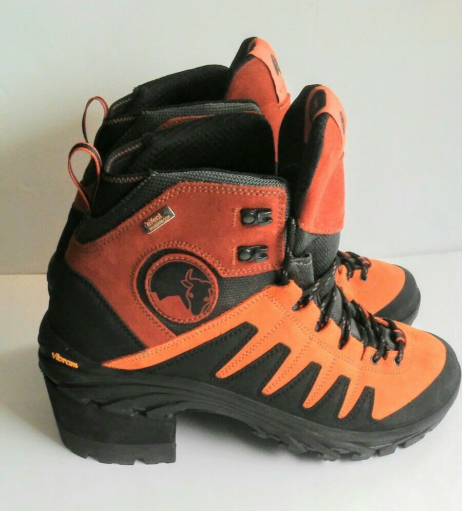 Mishmi Takin  Event Waterproof Hiking Boot Vibram Sole orange US Size M 11 No Box  gorgeous