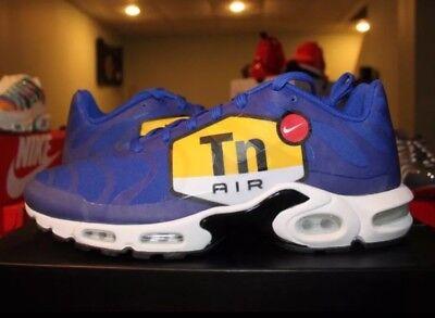 Men S Nike Air Max Plus Ns Gpx Aj7181 400 Hyper Blue Black White