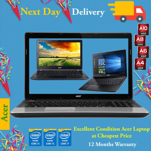 "Cheap Acer Aspire Laptop 15.6"" Core i5 i7 AMD 4GB 8GB RAM 1TB HDD SSD Windows 10"