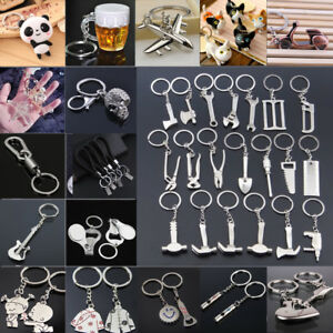 Fashion-Metal-Alloy-Keychain-Pendant-Keyring-Key-Holder-Chain-Ring-Keyfob-Gift