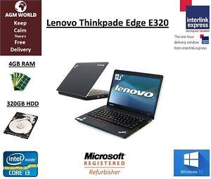 Details about Lenovo Thinkpad E320 Core i3-2350m 2 20GHz 4GB 320GB Webcam  HDMI Windows 10