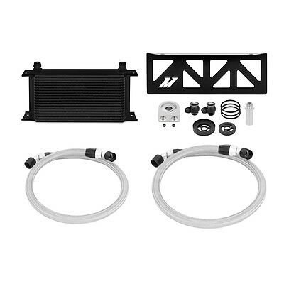 Analitico Mishimoto Olio Cooler Kit-si Adatta A Subaru Pomfret/toyota Gt86/scion Fr-s 2013-nero-