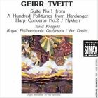 Geirr Tveitt: Suite No.1 from A Hundred Folktunes from Hardanger; Harp Concerto No. 2; Nykken (CD, Jan-1992, Simax)