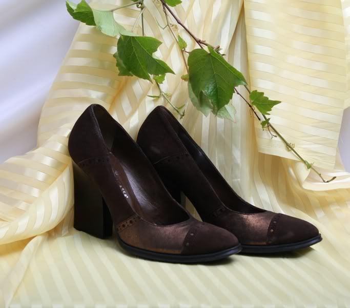 Claudio Fracassa 4011a Brown Spectator shoes Pumps 36.5   6.5