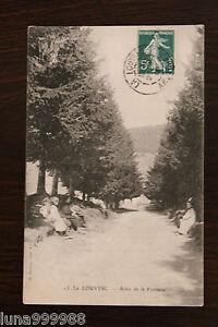 Tarjeta-Postal-Antigua-la-Louvesc-Camino-de-La-Fuente