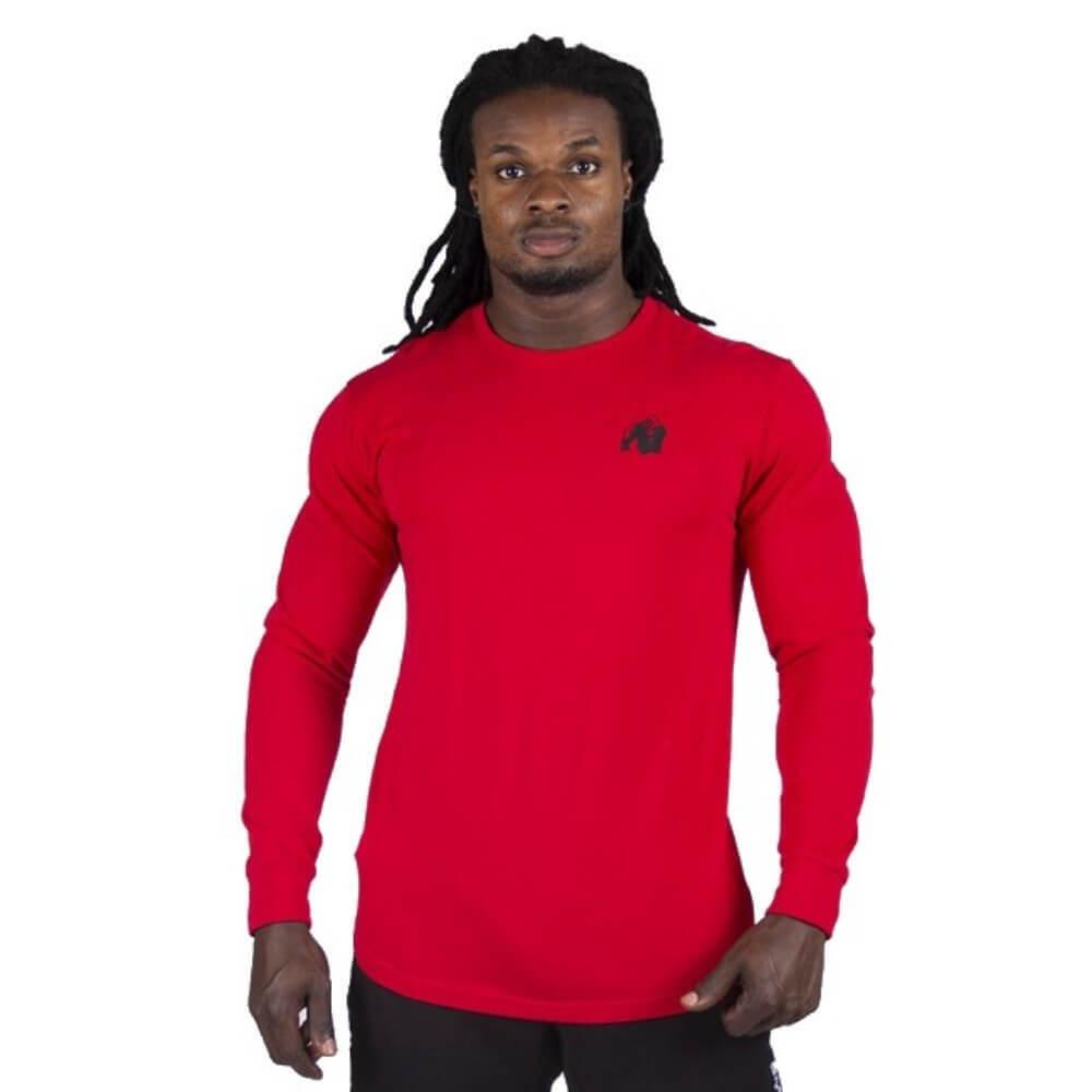 Gorilla Wear Williams Longsleeve Red