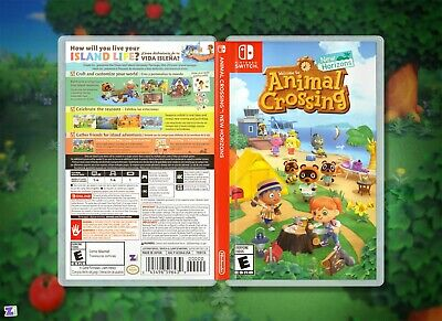 Animal Crossing New Horizons Replacement Case Double Sided