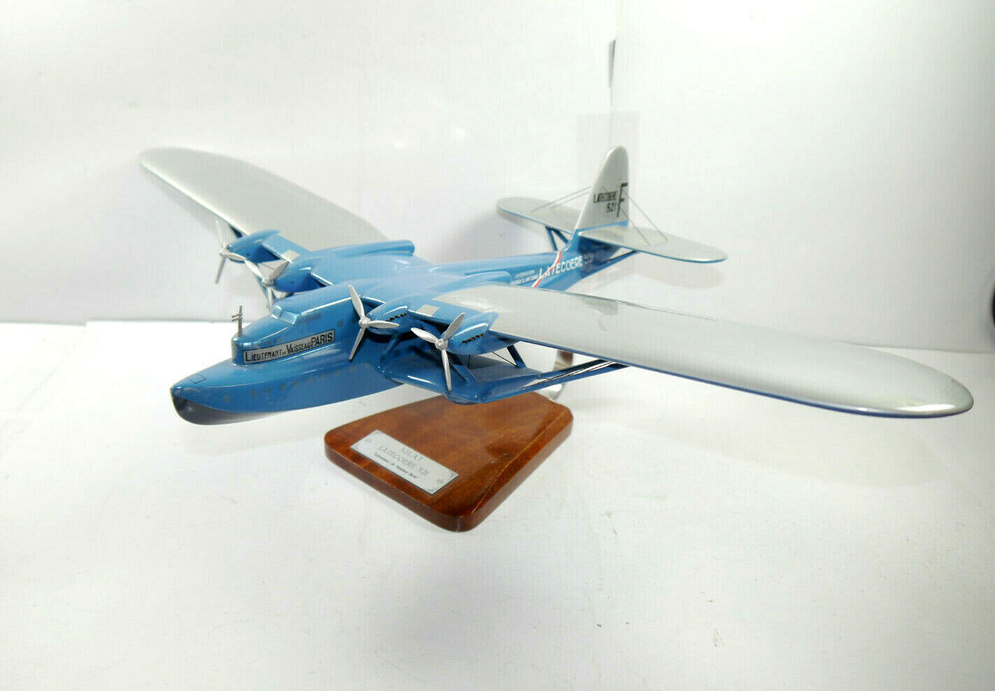Pilot Station Models S. I. L. a. T.Latecoere 521 Lieutnant Paris Aircraft F17