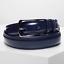 Cintura-Uomo-Pelle-Nera-Blu-Elegante-Artigianale-Cerimonia-Cinta-Cuoio-Marrone miniatura 12