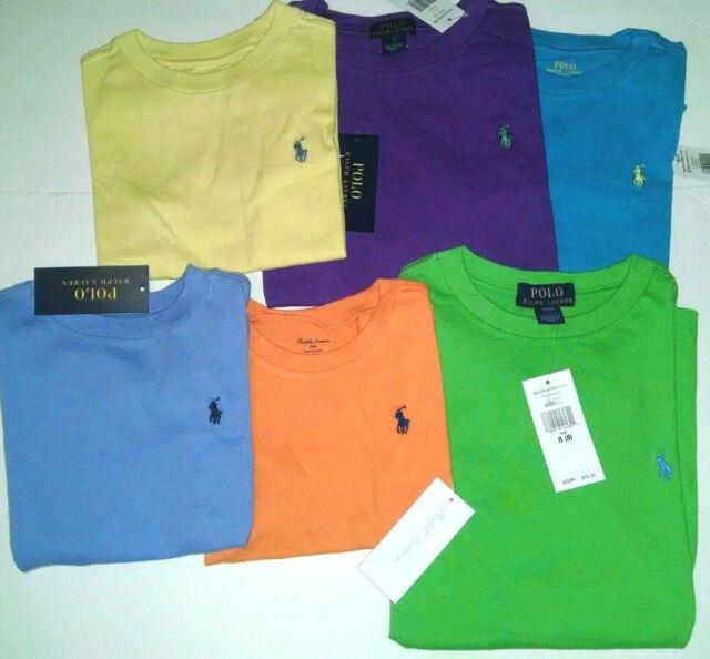 883556d38ab1 Polo Ralph Lauren Boys T Shirt Cotton Crew Neck 24months Dark Green ...
