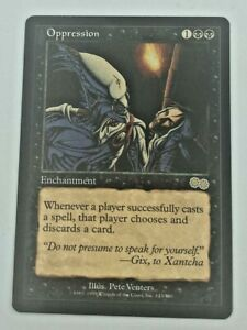 Oppression new MTG Urza/'s Saga Magic