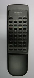 Sharp-GA1043BMSA-Fernbedienung-remote-control
